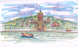 china-beijing 1 sketch copy