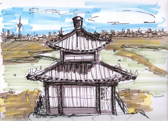 china-beijing 2 sketch