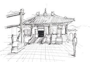 China-Wu Tai Mountain Temple 2