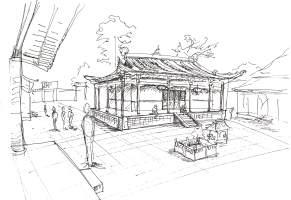 China-Wu Tai Mountain Temple