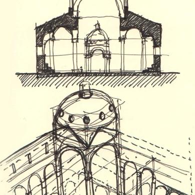 Santo Spirito-Brunelleschi-Florence