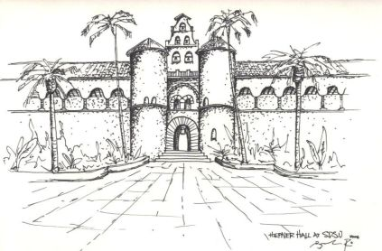 SDSU-Hepner Hall