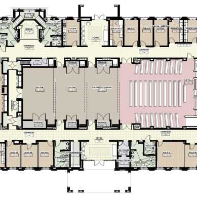 Chapel Enlarged Plan