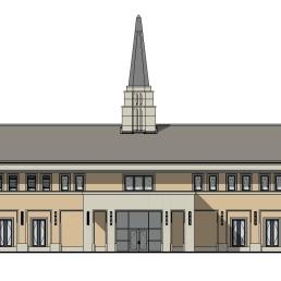 Chapel NORTH ELEVATION