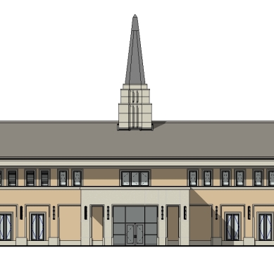 Chapel NORTH ELEVATION