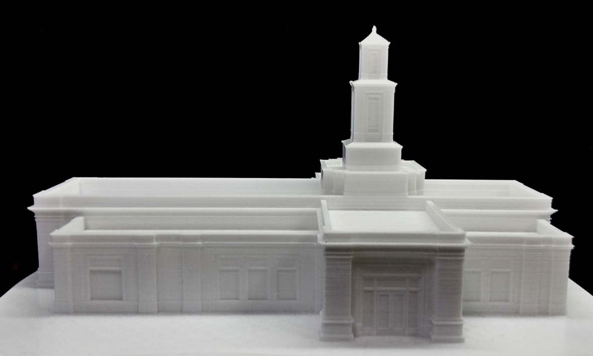 Memphis Temple - 3D Printed Model
