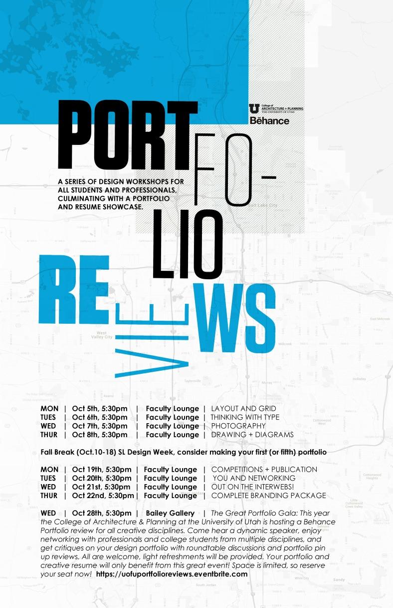 Porfolio Workshops Updated